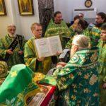 В день памяти преподобного Сергия Радонежского штатного диакона Всесвятского храма рукоположили во иереи