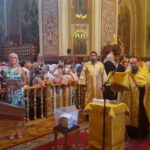 Прихожане Всесвятского храма поклонились святыне из Корфу