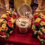 Ковчег с частицами мощей Иоанна Крестителя доставили в Екатерининский кафедральный собор Краснодара